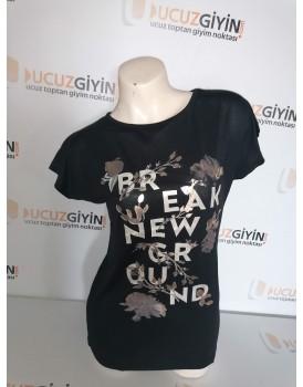 Baskılı Kadın T-shirt