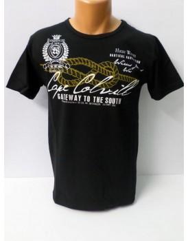 Yazı Baskılı Erkek T-Shirt